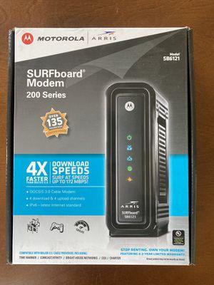 Motorola Modem - SURFboard 200 Series (SB6121) for Sale in San Diego, CA
