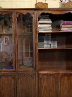 2 Cherry Wood Bookshelf's for Sale in Arvada,  CO
