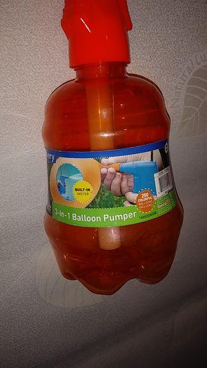 3_in _1 balloon pumper for Sale in Saint Paul, MN