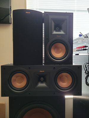 Sony Amp with Klipsch 3 Speakers for Sale in Hewitt, TX