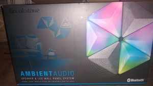 Brookstone Ambient Audio Speaker and LED wall panel system for Sale in Fresno, CA