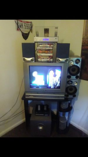TV, VCR, 3 DVD players, 15 DVDs, CD player for Sale in Lancaster, OH