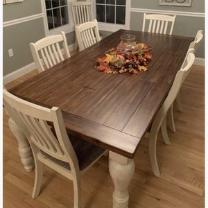 Farmhouse Table And Chairs for Sale in Wheat Ridge, CO