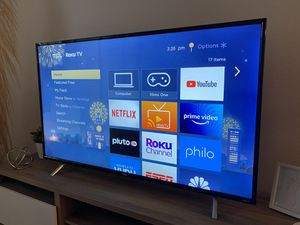 """TCL 55"""" inch TV - 4K - Roku for Sale in Tacoma, WA"""