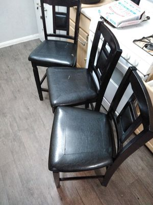 used Kitchen table with 3 chairs for Sale in North Las Vegas, NV