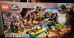 Lego T. Rex vs Dino Mech Battle for Sale in Fresno, CA