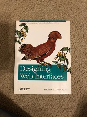 Designing Web Interfaces: Principles and Patterns for Rich Interactions for Sale in Sunnyvale, CA