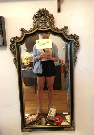 Silver Backed Antique Mirror for Sale in Denver, CO