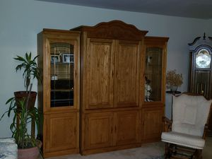 3 piece solid Oak cabinets for Sale in New Baltimore, MI