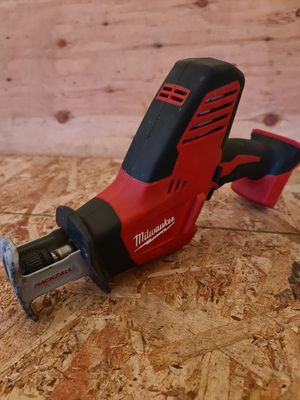 Milwaukee M18 18-Volt Lithium-Ion Cordless Hackzall Reciprocating Saw (Tool-Only) for Sale in Snohomish, WA