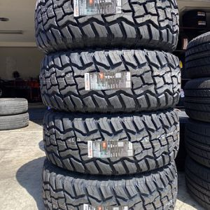 35X12.50R20 Supermax RT $800 Four Brand New Tires ( Installation & Balancing Included ) for Sale in Rialto, CA