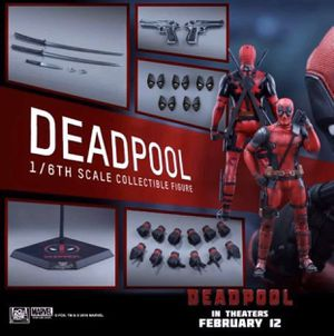 Deadpool 1/6 scale Hot Toys collectible figure for Sale in Cibolo, TX