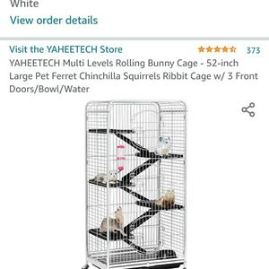 cage 4.3 ft, 5 shelf for Sale in Battle Ground, WA