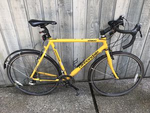Cannondale 58cm XR800 Road Bike with Fenders for Sale in Poulsbo, WA