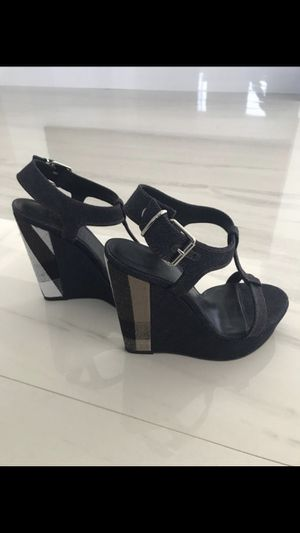 Burberry wedge sandal for Sale in Aventura, FL