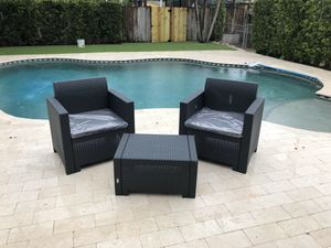 Patio-Outdoor-Italian Modern Furniture NEW for Sale in Miami Gardens, FL
