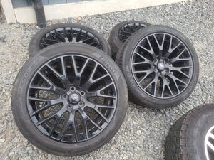 2015 ford mustang gt oem wheels and tires 19 for Sale in Renton, WA