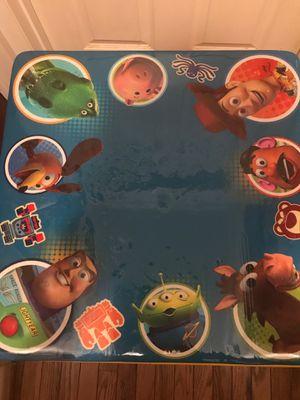 Toy story kids table for Sale in Fredericksburg, VA