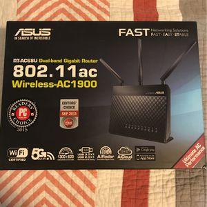ASUS RT-AC68U AC1900 Router for Sale in Marysville, WA