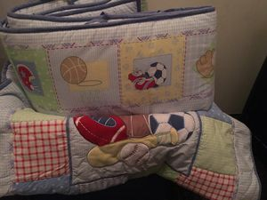 A baby boy blanket set with pads for Sale in Las Vegas, NV