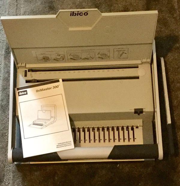 IBICO IBIMASTER 300 Binding Machine for Sale in Burien, WA - OfferUp