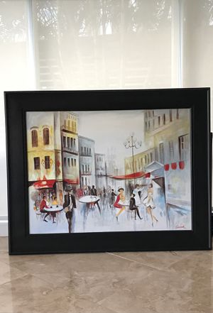 Paris Rue Cler Painting for Sale in Fort Lauderdale, FL