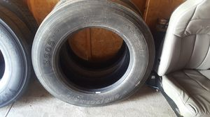 Low pro 24.5 semi tires for Sale in Columbus, OH