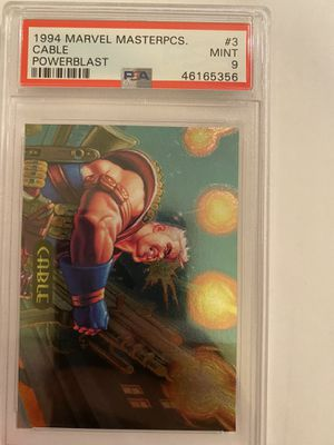 1995 Marvel Metal Thing Metal Blaster psa 8 for Sale in Garden Grove, CA