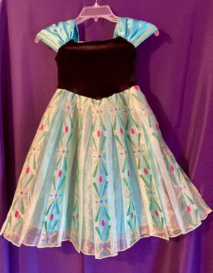Elsa and Anna-Anna Costume Dress 4T for Sale in Virginia Beach, VA