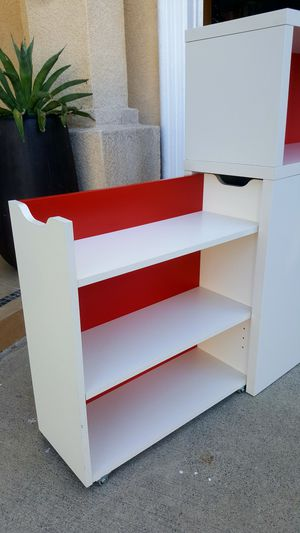 TWIN Sz Size Headboard + Sliding Hidden Storage + Shelves Buffet Console Entry Table for Sale in Monterey Park, CA