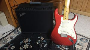 Guitar and amp for Sale in Davenport, IA