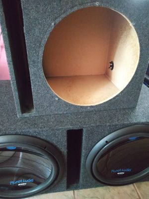 """Single 15"""" Subwoofer Box only(speaker not included) for Sale in Garland, TX"""