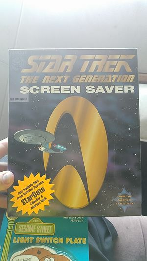 Star trek screen saver for mac. for Sale in Cary, NC