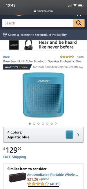 Bose Soundlink Speaker for Sale in Modesto, CA