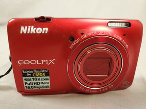 Nikon coolpix s6300 16mp for Sale in Cisco, TX