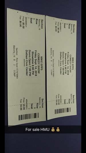 Mike Epps concert tickets for Sale in Montgomery, AL