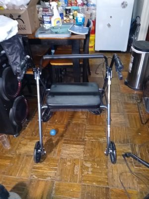 Walker with chair and basket for Sale in Washington, DC