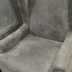 Pair of Blue Wingback Accent Chairs for Sale in Redmond, WA