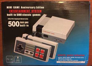 80$ nes mini style system 500 games no duplicates for Sale for sale  Elizabeth, NJ