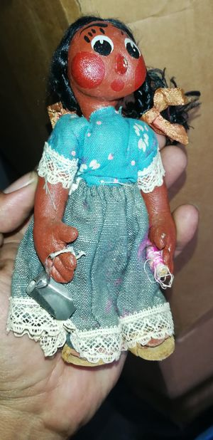 Antique Vintage Old Doll Maybe 1960s-70s Could be Earlier. From Mexico for Sale in Santa Fe Springs, CA