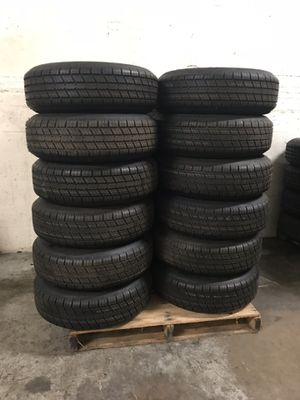 Brand new 235-80-16inch radial trailer tire on 6 or 8 lug galvanized rim for Sale in West Palm Beach, FL