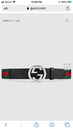 Gucci belt for Sale in Alexandria, VA