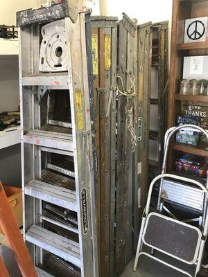 Ladders 10.00 each. 5' for Sale in Lake Stevens, WA