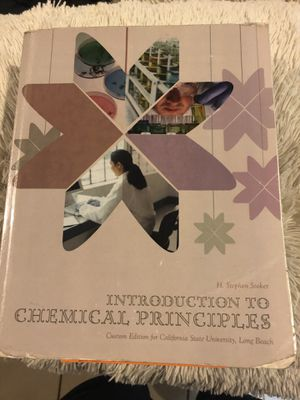 Intro to chemical principles for Sale in Los Alamitos, CA