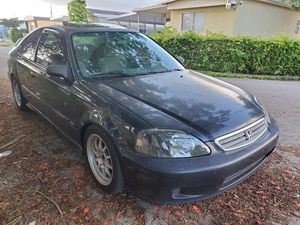 Honda civic 1999 manual for Sale in Hialeah, FL