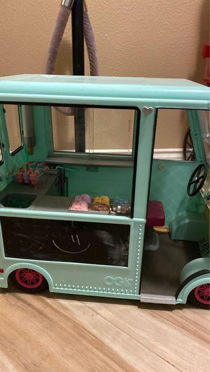 American girl doll ice cream truck for Sale in Fresno, CA