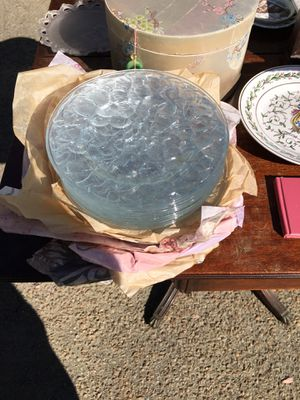 Antique Glass plates set jewelry for Sale in Columbia, SC