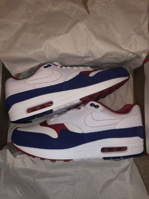 Nike Air Max 1 Americana/USA - Size 10 BRAND NEW LOOKING TO SELL ASAP PLZ for Sale in Shelby Charter Township, MI
