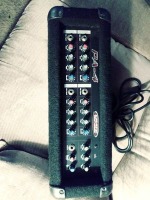 Crate pro 4 audio mixer for Sale in Independence, MO