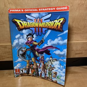 Dragon Warrior III Prima's Strategy Guide for Sale in Hollywood, FL